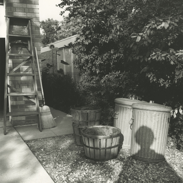 , '0129824 – Self-Portrait, Chicago area, 1966 Self-Portrait, Shadow in Yard,' 2017, KP Projects