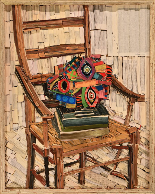 , 'Hermes Head on Chair,' 2017, Allouche Gallery