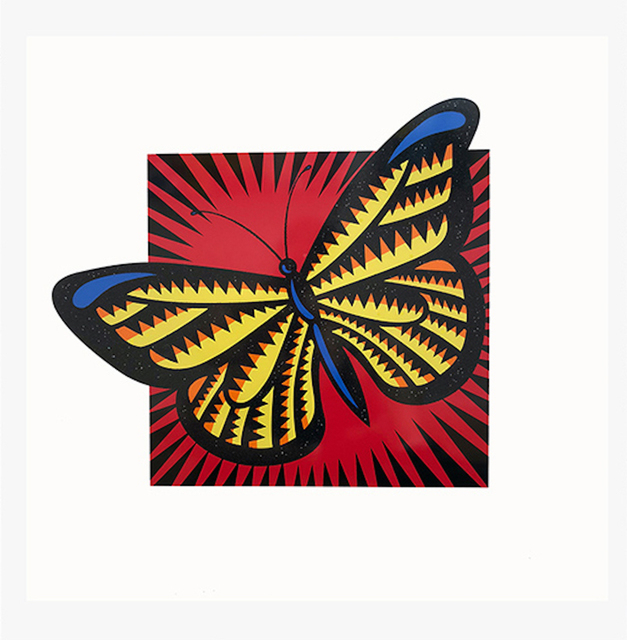 Burton Morris, 'Monarch Butterfly', 2015, Coalition for the Homeless Benefit Auction
