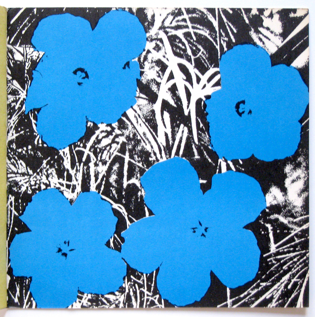 , '4 Blue Flowers from Ileana Sonnabend Gallery Catalog,' 1965, Joseph K. Levene Fine Art, Ltd.
