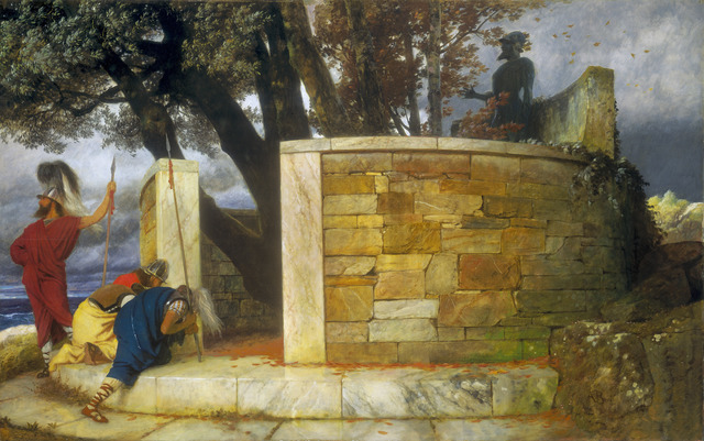 Arnold Böcklin, 'The Sanctuary of Hercules', 1884, National Gallery of Art, Washington, D.C.