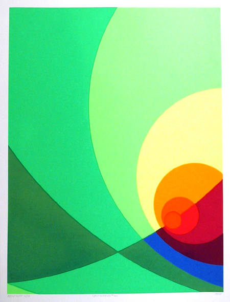 Herbert Aach, 'Split Infinity #4BS', 1980, RoGallery