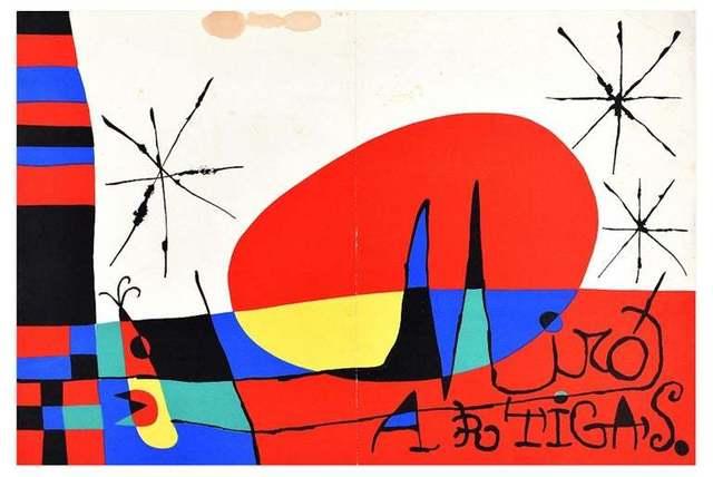 Joan Miró, 'Derrière le miroir ', 1956, Wallector