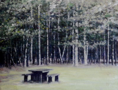 , 'Picnic Bench 1,' 2016, Reuben Colley Fine Art