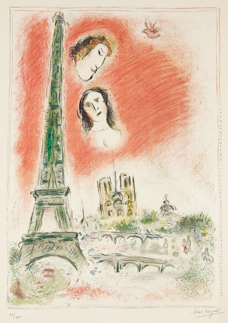 Marc Chagall, 'Le rêve de Paris (The Dream of Paris)', 1969-1970, Phillips