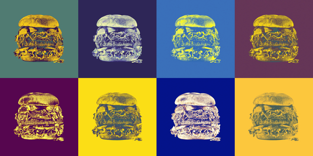 Vilan Natanzon, 'Warhol Burger', 2019, Fountain House Gallery