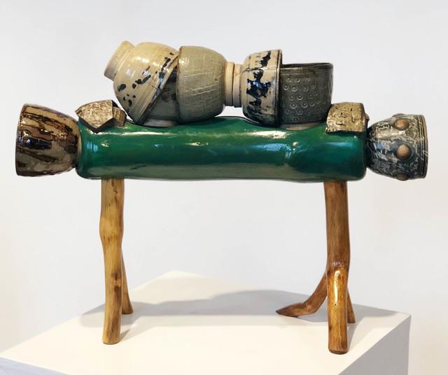 , 'Horse and Tea Bowls,' 2003, Linda Warren Projects