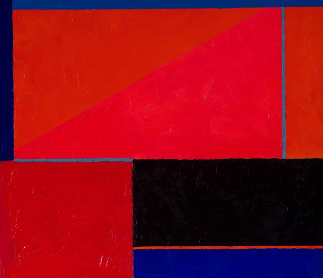 , 'Tabla azul, naranja y rojo,' 2005, Cecilia de Torres Ltd.