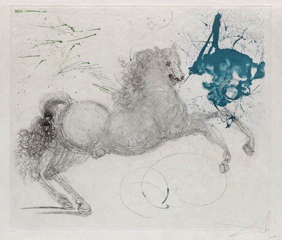 , 'Pegasus - Mythology series,' 1964, Galerie d'Orsay