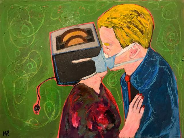 Morrison Pierce, 'Toaster Fuckers', 2021, Painting, Acrylic on canvas, McVarish Gallery