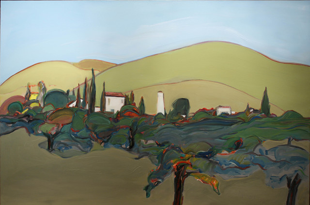 , 'Vineyard,' 2016, Caldwell Snyder Gallery