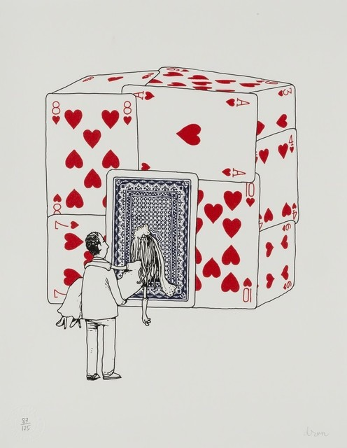 dran, 'House of Cards', 2015, Stowe Gallery