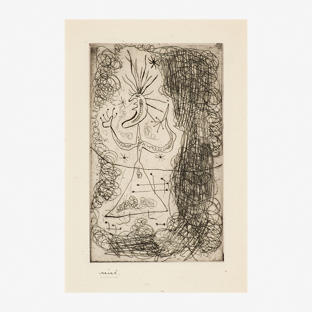 """Joan Miró, 'Untitled from Stephen Spender's """"Fraternity""""', 1939, Rago"""