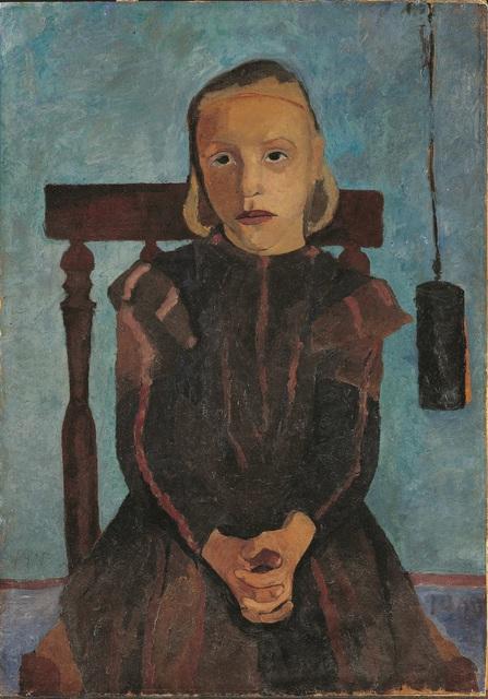 , 'Jeune Fille au Poids d'Horloge,' 1900, Musée d'Art Moderne de la Ville de Paris