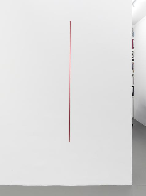 , 'Gegenüber Rot,' 2014, Galerie Christian Lethert