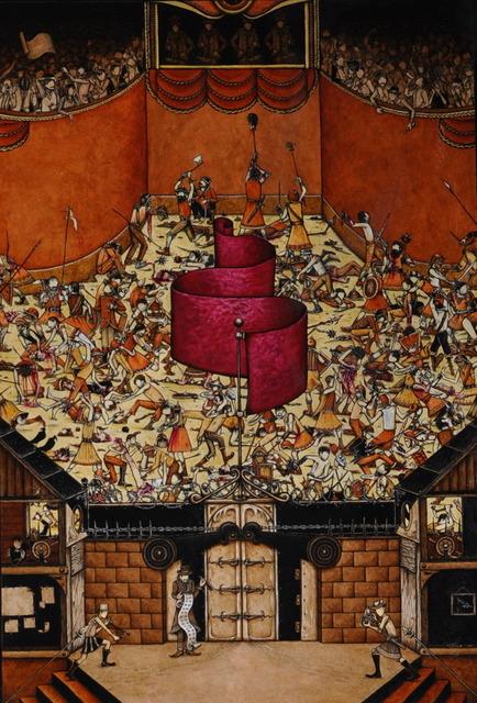 , 'Wooden Sword,' 2013, Neubacher Shor Contemporary