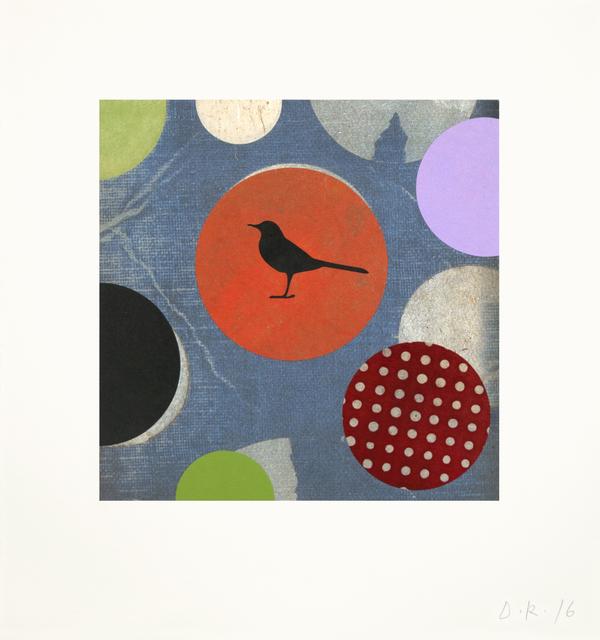 , 'Little Tantric Bird (Blue),' 2016, Tandem Press