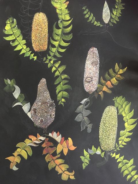 , 'Banksia Grandeur,' 2018, Margaret River Art Gallery