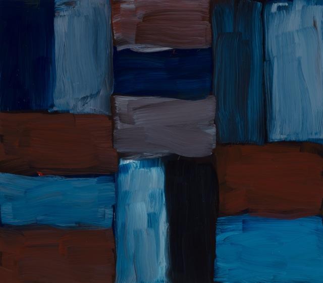 Sean Scully, 'Doric Blue Inner', 2016, Edward Hopper House