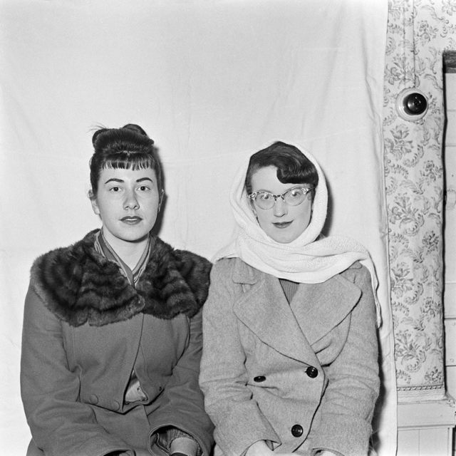 , 'Untitled (women with fur and glasses),' 1950-1970, Jackson Fine Art