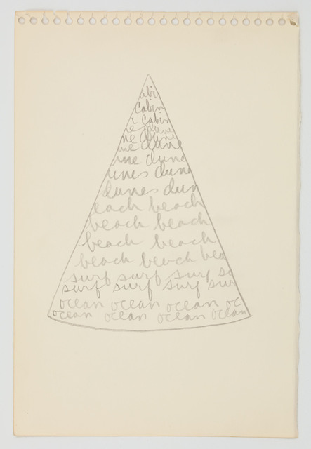 Trisha Brown, 'Pie eyed view from the cabin', 1973, Sikkema Jenkins & Co.
