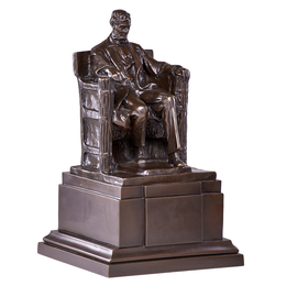 Seated Lincoln from the plaster maquette