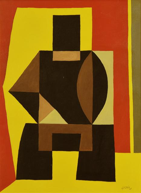 , 'Composition,' 1949, Stern Pissarro