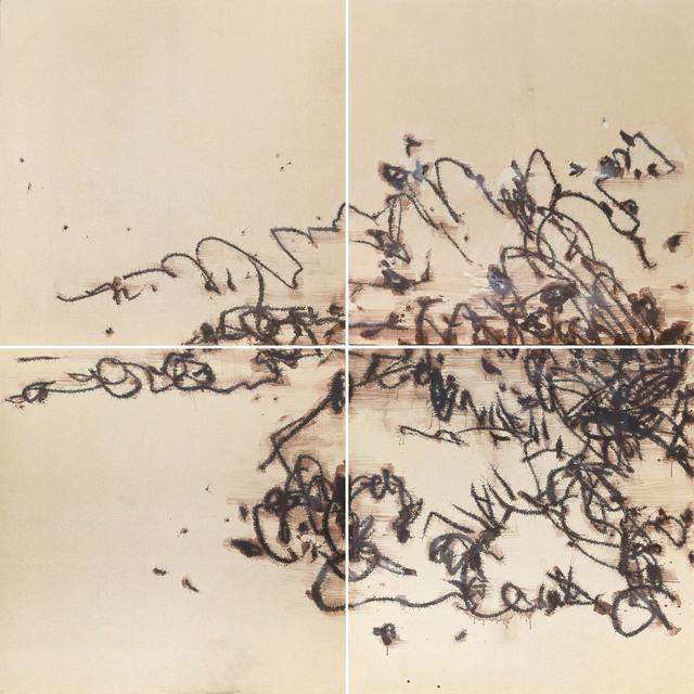 , 'Boulders and Wild Grass (Quadriptych) 石头乱草 四屏,' 2012, Longmen Art Projects