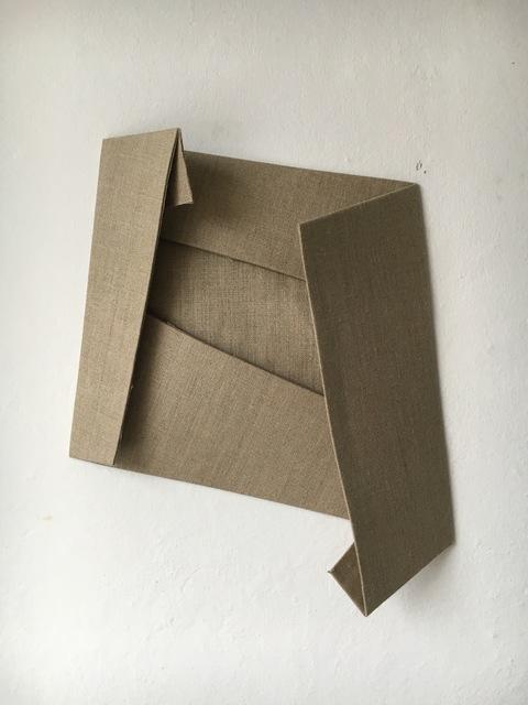 , 'Folded Flat Linen 03,' 2016, Rauminhalt