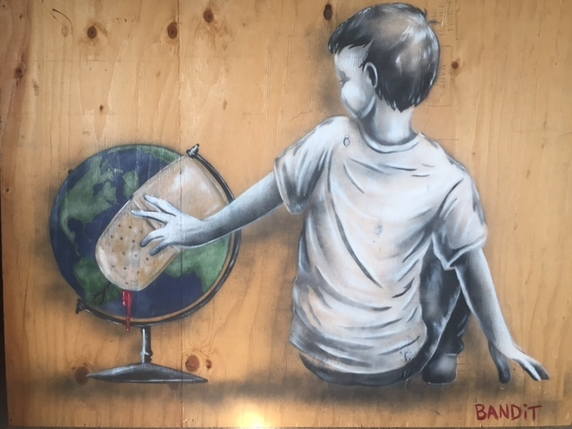 Bandit, 'Hurt World', 2016, Street Art for ACLU: Benefit Auction 2017