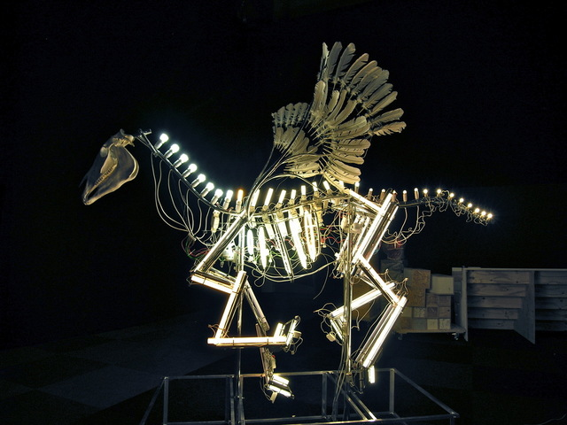 , 'Pegasus 2.0,' 2018, Retrospect Galleries