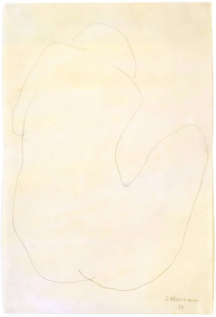 Eduardo Chillida, 'Untitled', 1949, Drawing, Collage or other Work on Paper, Pencil on paper, Galeria Senda