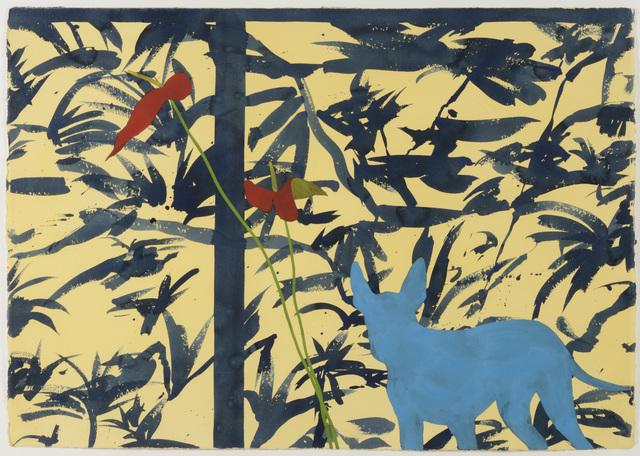 , 'January Watercolor,' 1986, Samuel Freeman