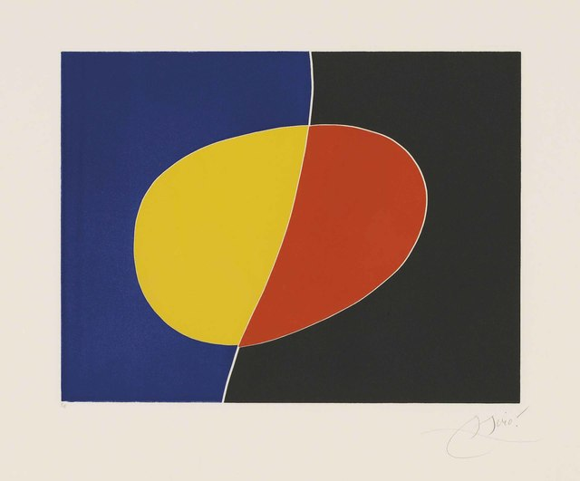 Joan Miró, 'Plate 2 from: Càntic del Sol', 1975, Christie's