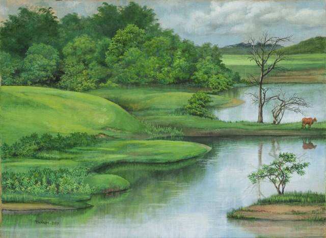 , 'Landscape II,' 2017, Art Vietnam Gallery