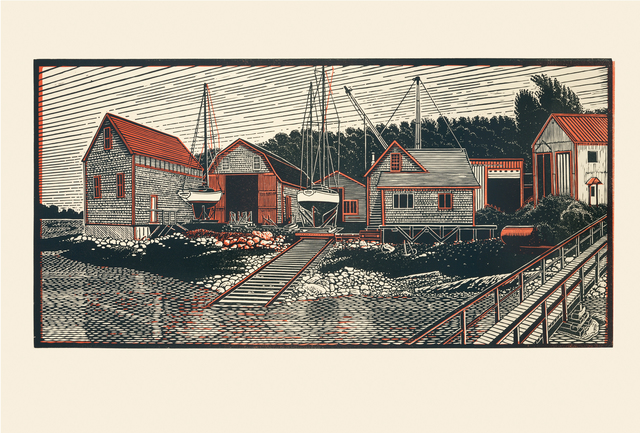 , 'Benjamin River Boat Yard, Past and Present,' , Dowling Walsh