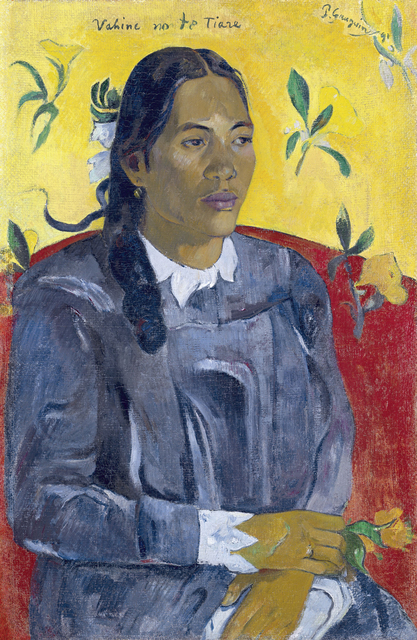 , 'Vahine no te tiare (Woman with a Flower),' 1891, Fondation Beyeler