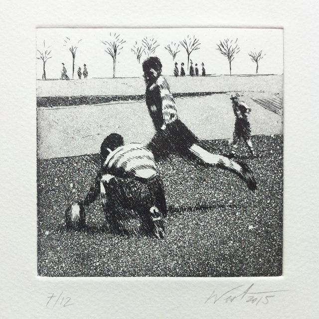, 'Kick off,' 2015, Anquins Galeria