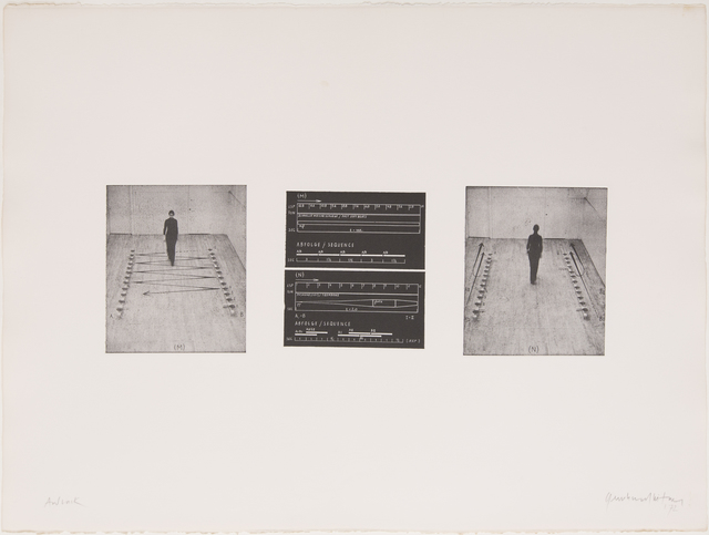 , 'Tonweg / Sound Path,' 1972, Georg Kargl Fine Arts