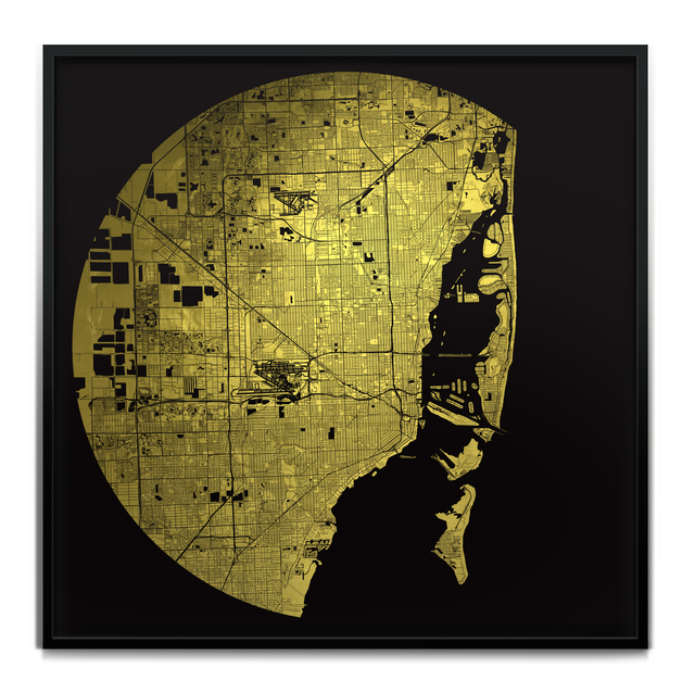 , 'Mappa Mundi (Atlas of the world, available for every city/town/continent in the world),' 2017, Art Unified Gallery