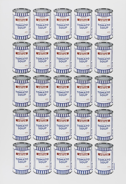 Banksy, 'Tesco Tomato Soup Cans', 2006, Forum Auctions