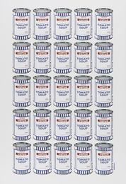 Tesco Tomato Soup Cans