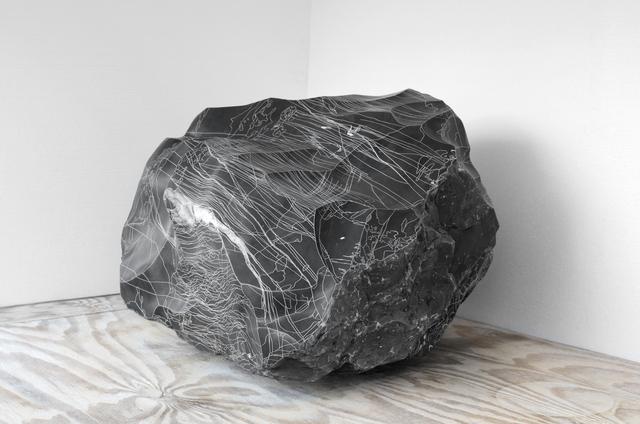 , 'Nº19 (de la serie Líneas de Caliza),' 2017, Machete