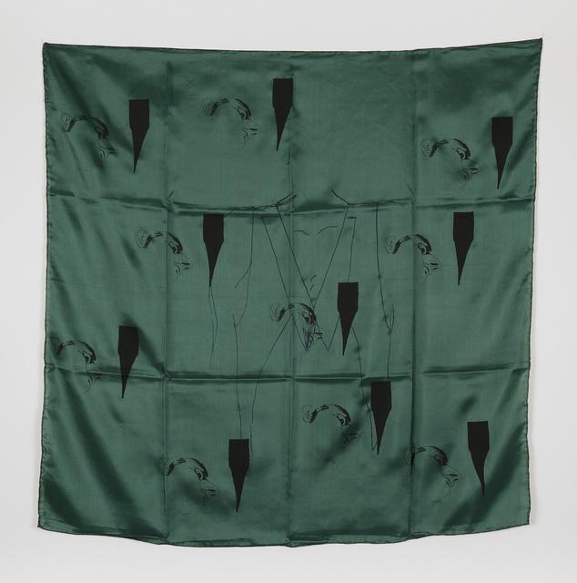 , 'Late Checkout (scarf),' 2015, Simone Subal