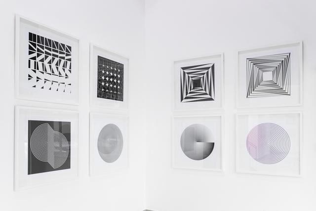 Marina Apollonio, 'Marina Apollonio and Marcello Morandini Portfolio', 2018, Marion Gallery