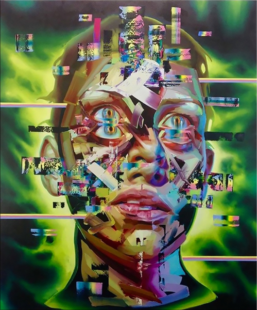 Justin Bower, 'Afterlife I', 2017, UNIX Gallery