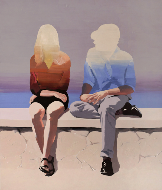 , 'Couple at the Seaside,' 2019, Maybaum Gallery