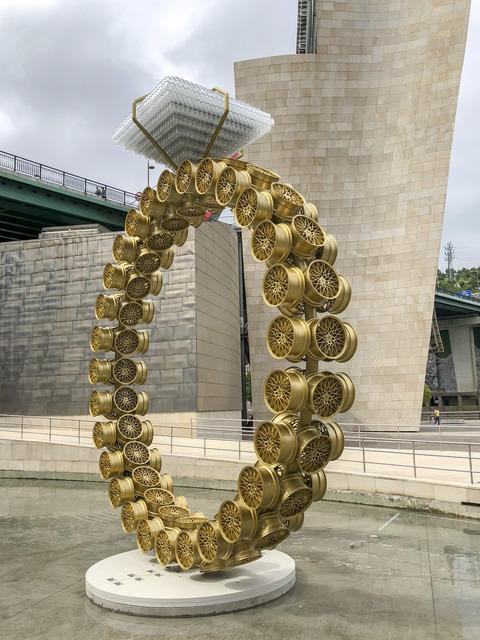 , 'Solitaire (Solitário),' 2018, Guggenheim Museum Bilbao