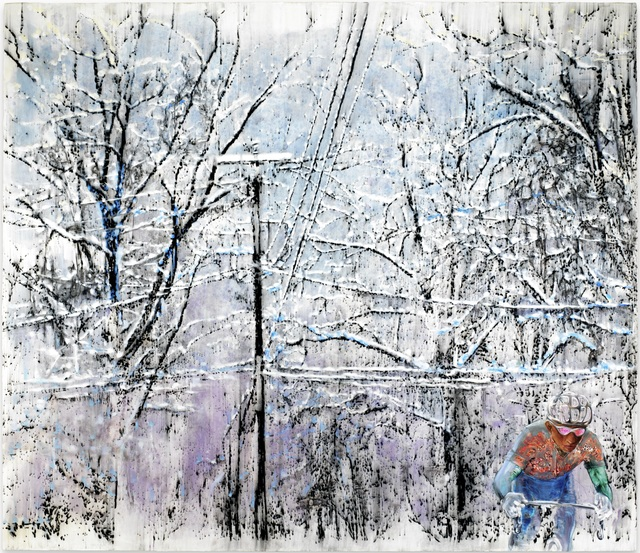 , 'get out,' 2017, Ben Brown Fine Arts
