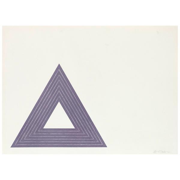 Frank Stella, 'Leo Castelli', 1972, Caviar20